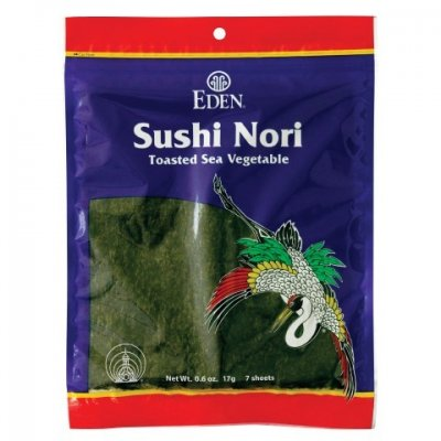 Sushi Nori (50 sheets), toasted - cultivated
