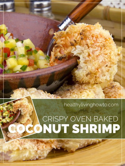 Coconut Shrimp, Oven Crunchy