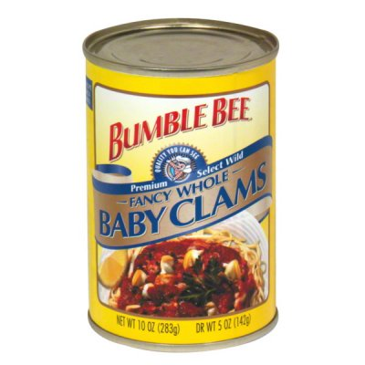 Fancy Whole Baby Clams