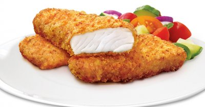 Fish Fillets, Potato Crunch