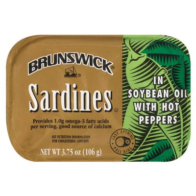Sardines, in Soybean Oil