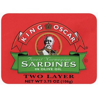 Sardines, One Layer
