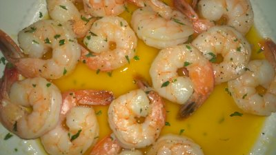Shrimp Scampi, Savory Garlic