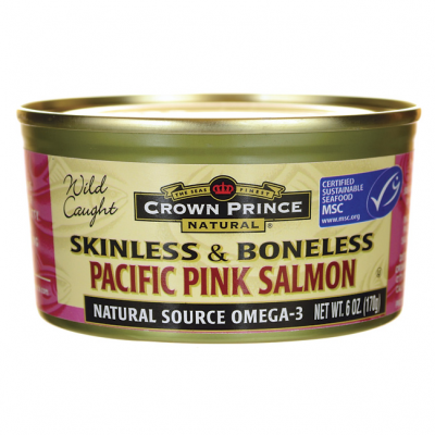 Pink Salmon, Wild Caught, Skinless, Boneless