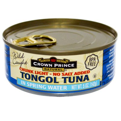 Chunk Light Tuna, Salted
