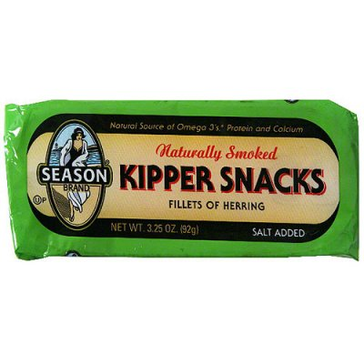 Naturally Smoked Boneless Fillets Of Herring, Kipper Snacks