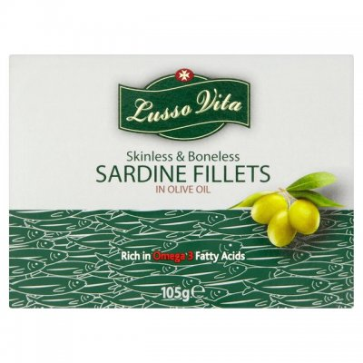 Boneless and Skinless Sardines in Olive Oil