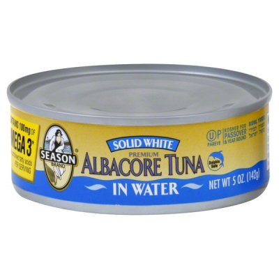 Tuna, Albacore, Premium, In Water