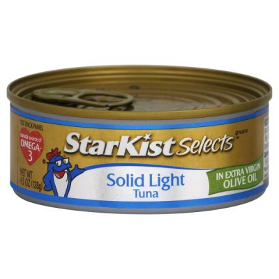 Tuna, Solid Light In Olive Oil