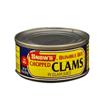 Chopped Clams in Clam Juice