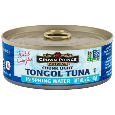 Natural Chunk Light Tuna in Water