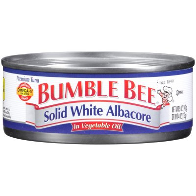 Solid White Albacore in Oil