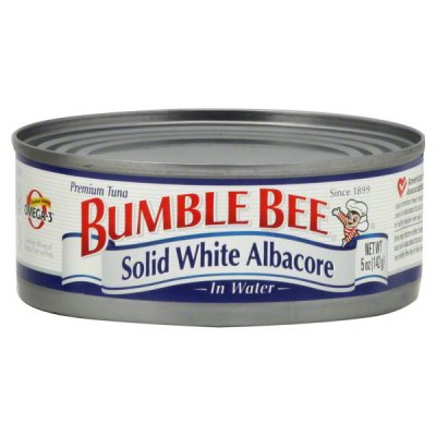 Solid White, Albacore Tuna In Water