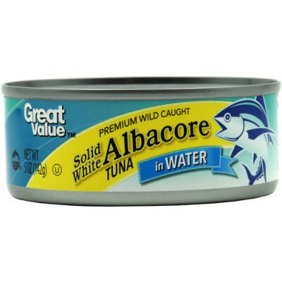 Tuna, Solid White Albacore, in Vegetable Oil