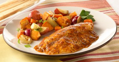 Fish Fillets, Simply Bake Tilapia