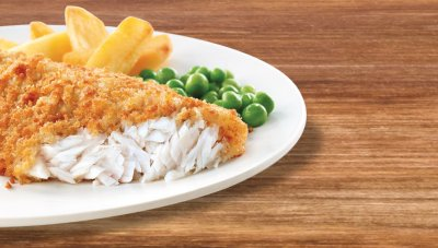 LightlyBreaded Fish Fillets
