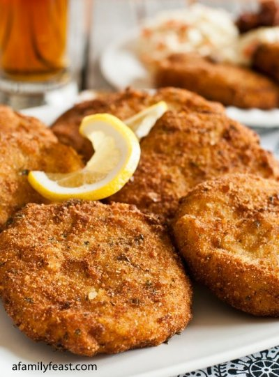 New England Cod Fish Cakes