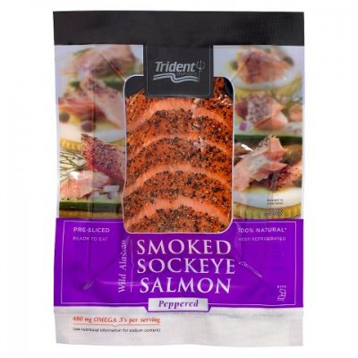 Sockeye Salmon Peppered
