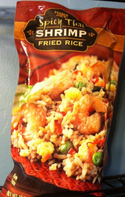 Spicy Thai Shrimp Fried Rice