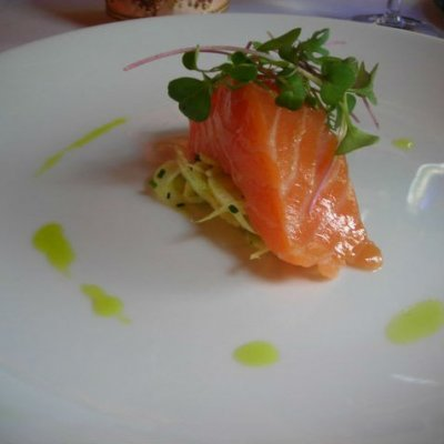 Citrus Cured Smoked Salmon