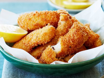 Fish Sticks, Crunchy Breaded Family Pack 60 Ct