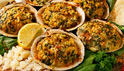Frozen Stuffed Clams