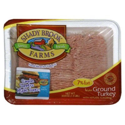 Ground Breast of Turkey with Natural Flavorings, Extra Lean