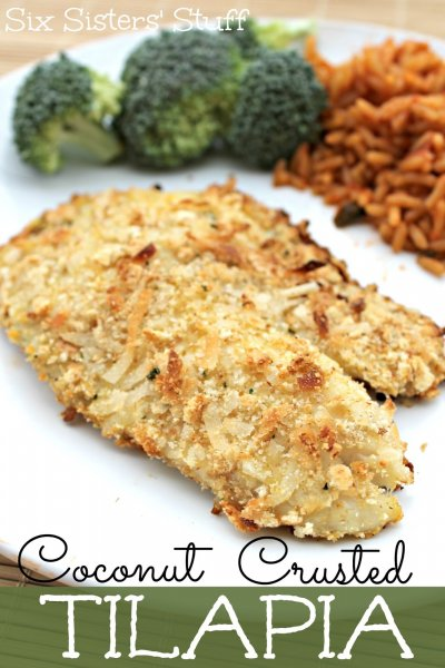 Tilapia,Coconut Crusted