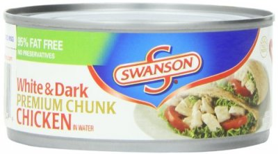 Chicken, White & Dark Premium Chunk, in Water