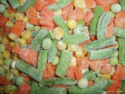 Mixed Vegetables, Carrots, Green Beans And Peas