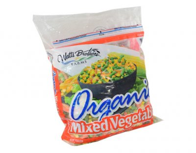 Organic Mixed Vegetables