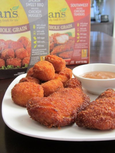All Natural Whole Grain Chicken Nuggets