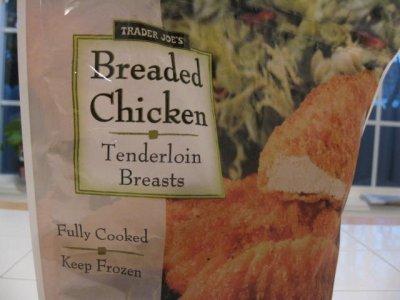 Breaded Chicken Tenderloin Breasts