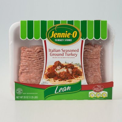 Italian Seasoned Ground Turkey, Lean