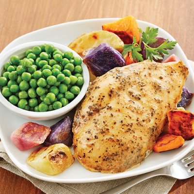 Seasoned Boneless Skinless Chicken Breast Fillets