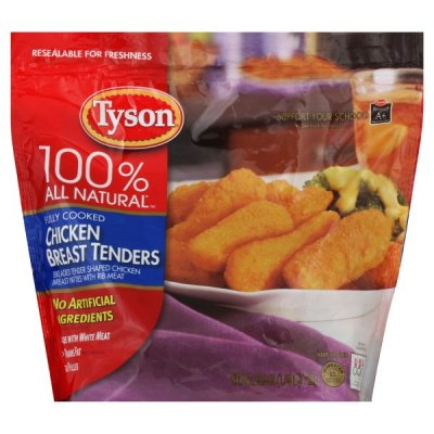 Breaded Chicken Breast Tenderloins, 100% Natural