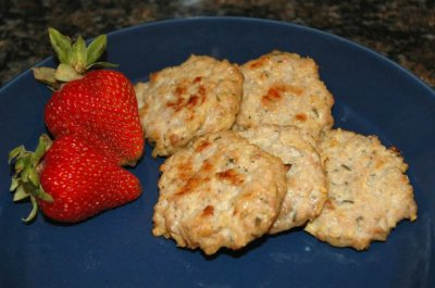 Chicken & Apple Breakfast Sausage Patties