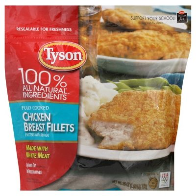 Chicken Breast Fillets, with Rib Meat