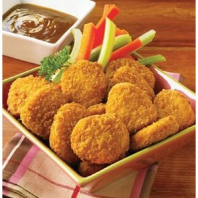 Chicken Breast Nuggets, with Rib Meat, Breaded
