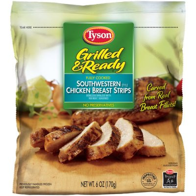 Chicken Breast Strips, Southwestern Style