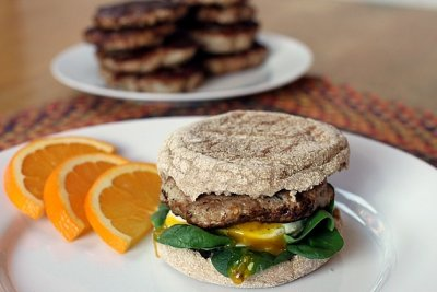 Savory Turkey Breakfast Sausage Patties