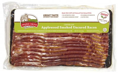 Fully Cooked, Hardwood Smoked, Uncured Canadian Bacon