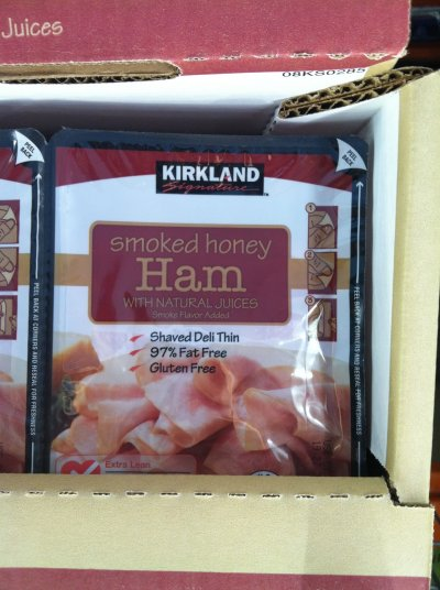 Ham, Honey, Shaved