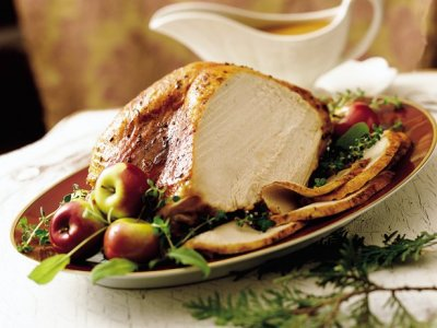 Turkey Breast, & White Turkey, Oven Roasted