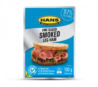 Finely Silced Smoked Ham