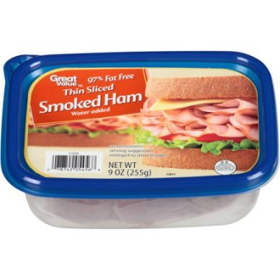 Thin Sliced Smoked Ham