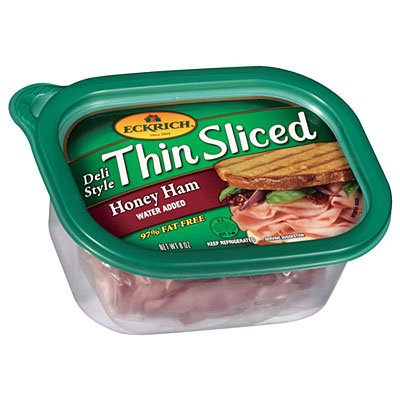 Ham, Deli, Thin Sliced, Honey