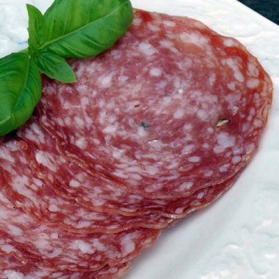 Salami, Milano, Sliced