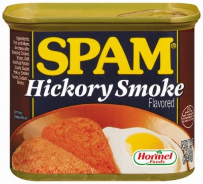 Spam, Hickory Smoke Flavored