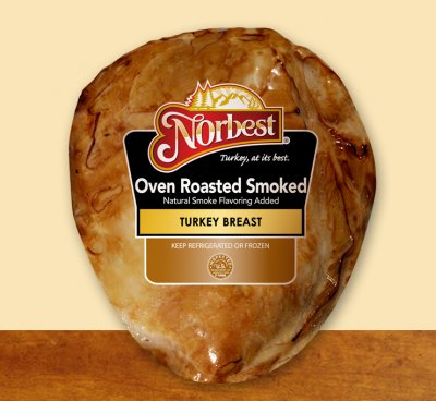 Turkey Breast, Smoked, Value Pack